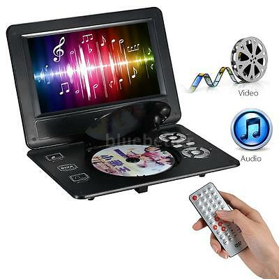 9-inch Tft Screen Portable Dvd Player Multimedia 270°swie...