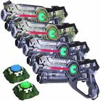 Light Battle Camo set - 4 Laserguns + 2 Lasergame Targets