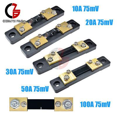 10203050100a Current Dc 75mv Fl-2 Shunt Resistor For Ammeter Amp Panel Meter
