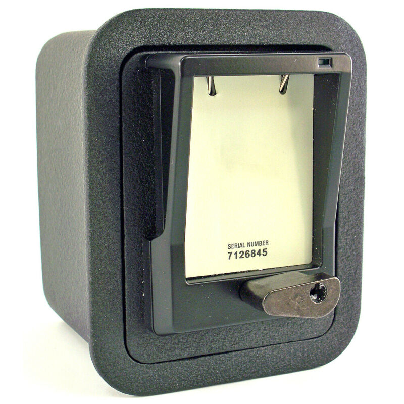 Key Storage Safe Trac-Vault Surface Mount New