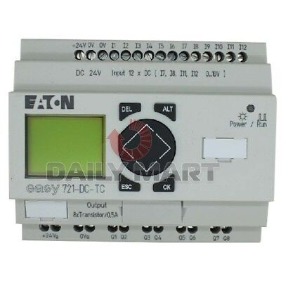 Used Tested Work Eaton Easy721-dc-tc Programmable Relays