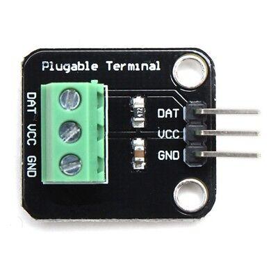 Ds18b20 Temperature Sensor Module Probeterminal Adapter For Arduino Hm