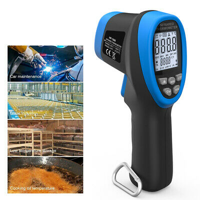 Digital Ir Infrared Thermometer Pyrometer Test High Temperature 1500c Btmeter