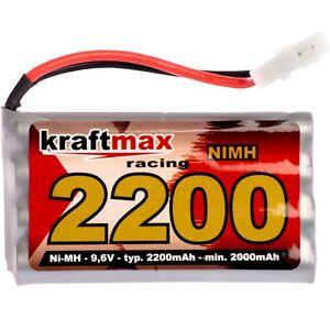 Power Akku RC-Pack 9,6V 2200mAh AA Mignon L4x2 Ni-MH RC Racing Pack für Tamiya