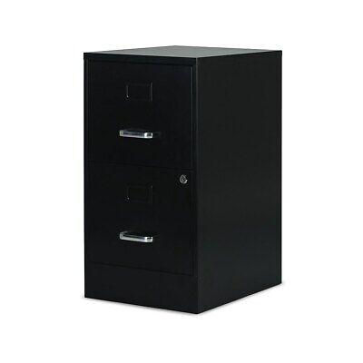 Staples 2-drawer Vertical File Cabinet Locking Letter Black 18d 52142 2806589
