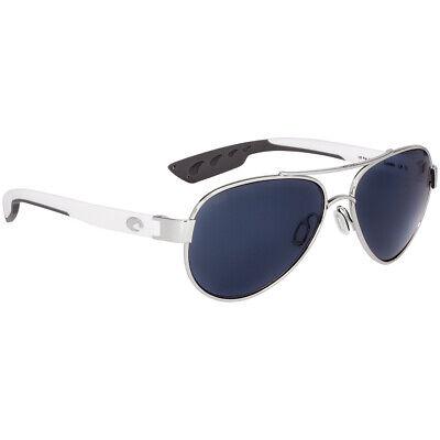 Costa Loreto Metal Frame Grey Lens Unisex Sunglasses (Costa Frames)