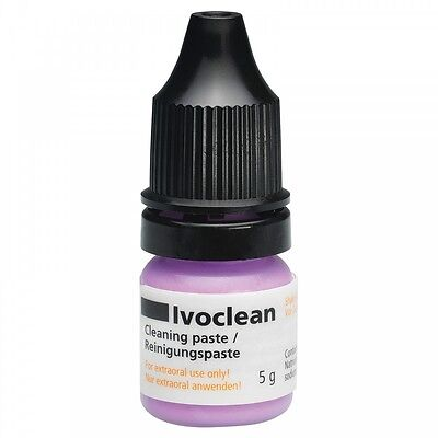 Ivoclar Vivadent Ivoclean Solution For Porcelain Ceramic Zirconium Crowns Veneer