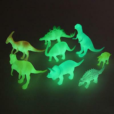 8 Night Light Noctilucent Dinosaur Figure Child Toy Gift Kid