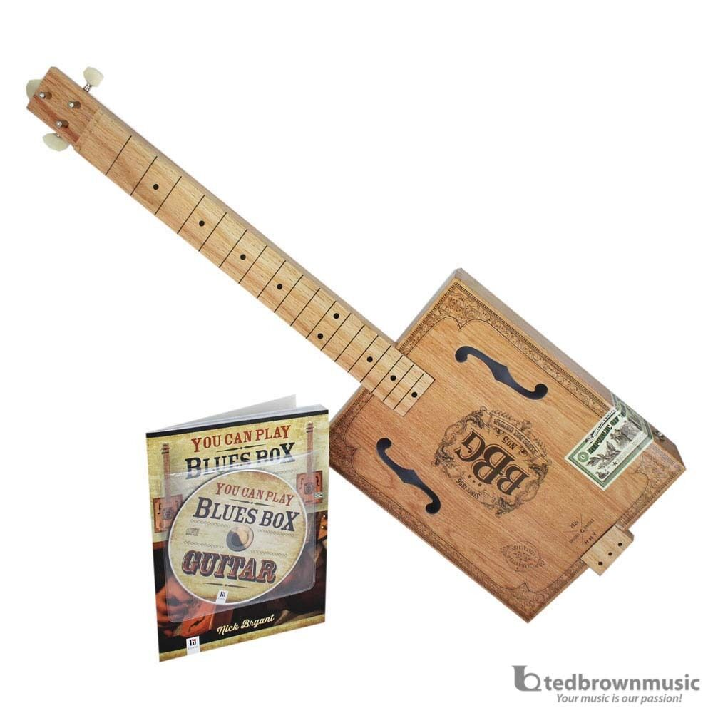 Hinkler Electric Blues Box Slide Guitar Kit - Cigar Box Guit