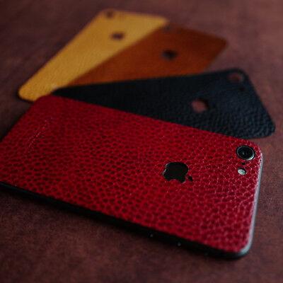 iPhone 8 Real leather skin / film  - Arte di mano -