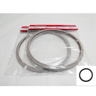 2+1ea 22cm Silicone Sealing Gasket Valve O-Ring for Fissler Vitavit Royal