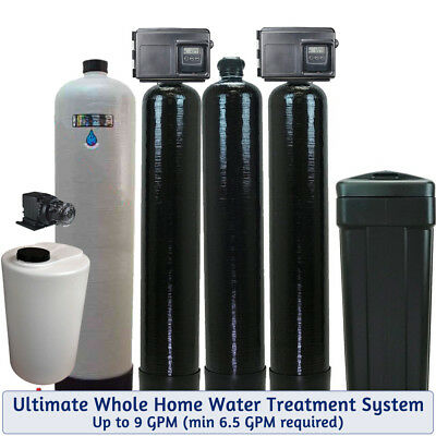 Ultimate Whole House Water Treatment System -Bacteria-Iron-Smells-Tastes-Odors-H