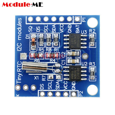 10pcs Arduino I2c Rtc Ds1307 At24c32 Real Time Clock Module For Avr Arm Pic Smd