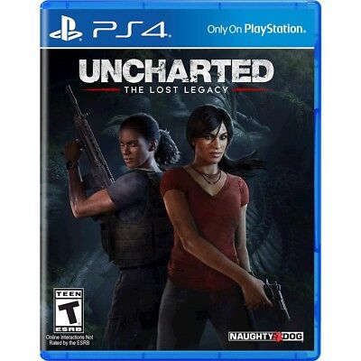 PS4 Uncharted: The Lost Legacy Brand New Factory Sealed Playstation 4