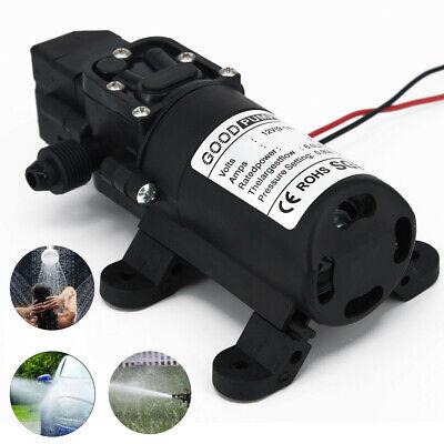 130 Psi 6lmin Water High Pressure Switch Diaphragm Self Priming Pump Dc 12v Us