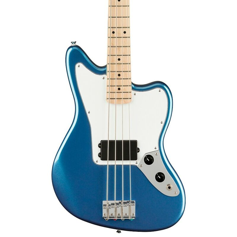 Squier Affinity Series Jaguar Bass H Maple Fingerboard Lake Placid Blue