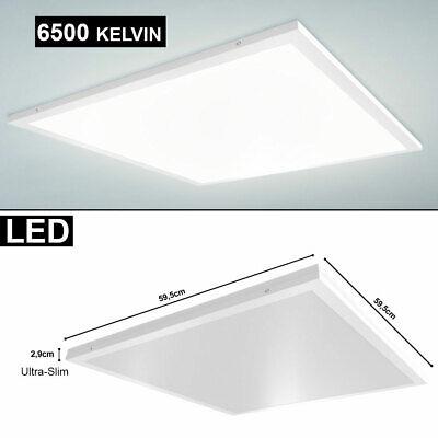 40 Watt LED Decken Ein AUFBAU Panel Lampe Arbeits Zimmer Tageslicht Leuchte SLIM