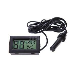 Digital Hygrothermograph Temperature Gauge Humidity Monitor Hygrometer O3N7