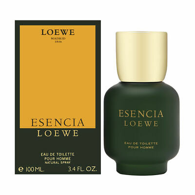 Esencia by Loewe for Men 3.4 oz Eau de Toilette Spray Brand New