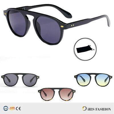 Flat Top Round Large Huge Big Oversized Wayfare Aviator Sunglasses Mens (Round Wayfarer Sunglasses)
