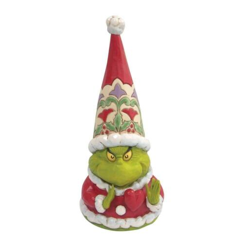 Jim Shore GRINCH GNOME WITH LARGE HEART Figurine 6009200 DR. SEUSS NEW 2021