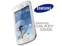 SAMSUNG GALAXY SDUOS S7562 (DUAL SIM, AS BRAND NEW, MIX COLOURS)