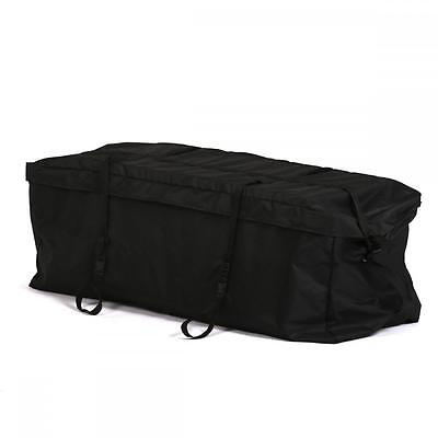 Cargo Carrier Bag Hitch Mount Luggage Roof Top Rack Mount Expanding Truck SUV G6