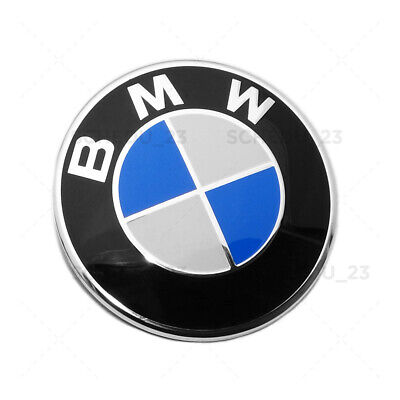 Front Hood 82mm BMW Roundel Emblem Replacement