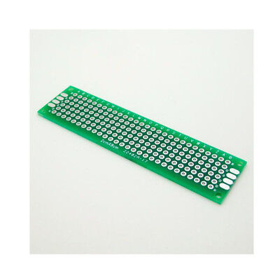 2510pc Double Side 2x8 Cm Pcb Strip Board Printed Circuit Prototype Track Lw