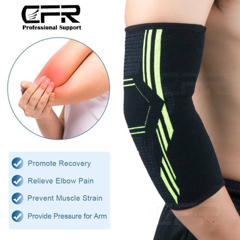 Copper Elbow Brace Support Sleeve Tendon Joint Pain Wrap