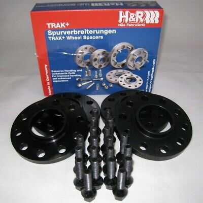 H/&R SPURVERBREITERUNG in schwarz mit ABE 40mm für SMART