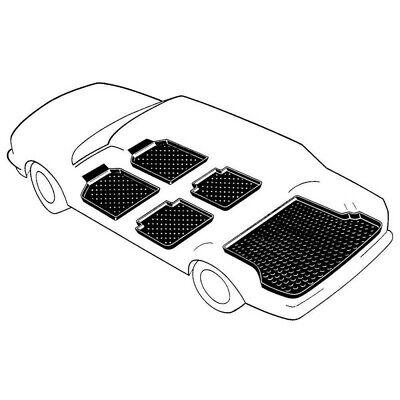 Kofferraumwanne mit Antirutsch für Audi A1 auch Sportback ab 8//2010-heute