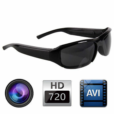 720P HD  SPY Hidden DVR Camera Camcorder  Video Recorder DV CAM Eyewear Glasses