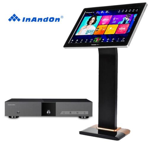 "InAndon KV-V5 Pro Karaoke Player with 22"" touch screen,Karaoke Machine Cloud"