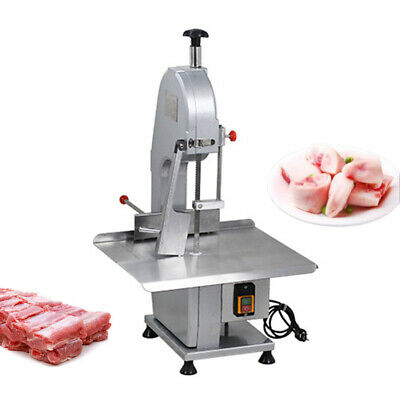 110v 1500w Commercial Electric Bone Saw Machine Frozen Meatfish Cutting Usa