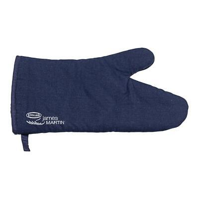 Stellar James Martin Cotton Drill Thermal Resistant Padded Single Oven Glove Mit