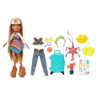 Bratz Study Abroad Mexico Raya Doll w/Accessories Clothes Jewelry Luggage NEW