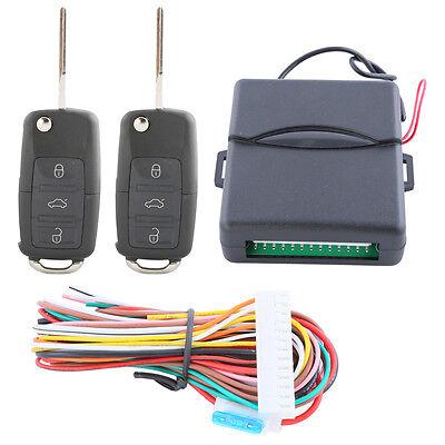 Universal Car Keyless Entry System Remote Lock Unlock Central Door Locking Dc12v