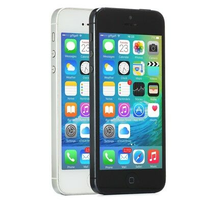 Apple iPhone 5 Smartphone GSM Unlocked 16GB 32GB 64GB Black Slate White iOS](iphone 5 32gb white unlocked)
