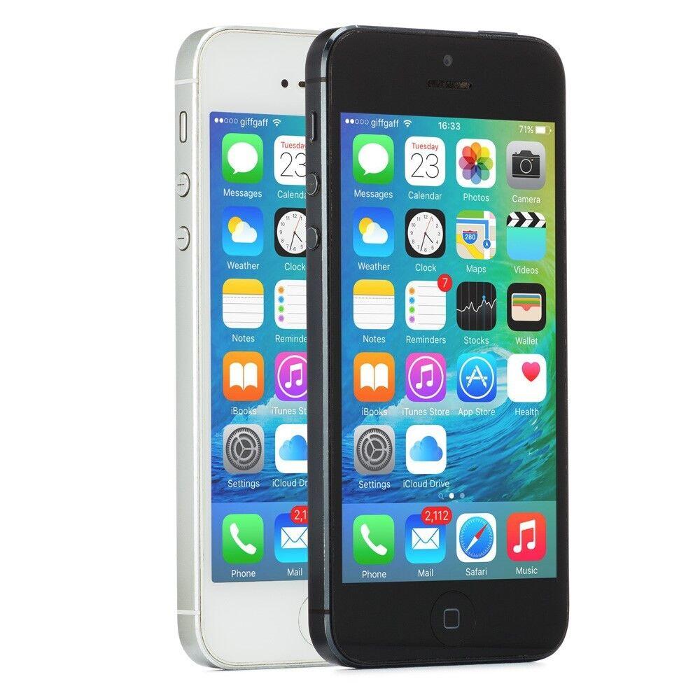 Apple iPhone 5 Smartphone GSM Unlocked 16GB 32GB 64GB Black Slate White iOS