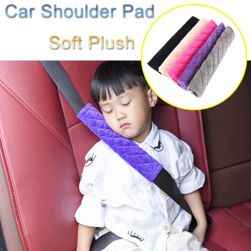 Soft Plush Cushion  Car Shoulder Pad Seat Safety Belt Covers