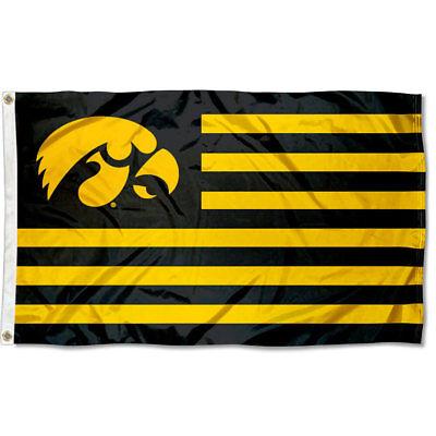 Iowa University Alumni (Iowa Hawkeyes University Flag for Alumni Nation)