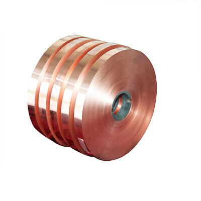 1pcs 0.5mm X 30mm X 1000mm 99.9 Pure Copper T2 Cu Metal Sheet Foil Plate Strip