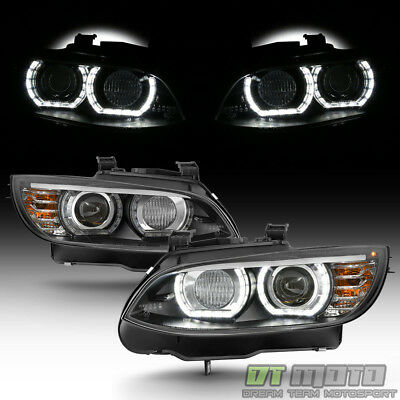 HID/Xenon 2007-2010 BMW E92 E93 328i 335i Coupe F32 Style LED 3D Halo Headlights