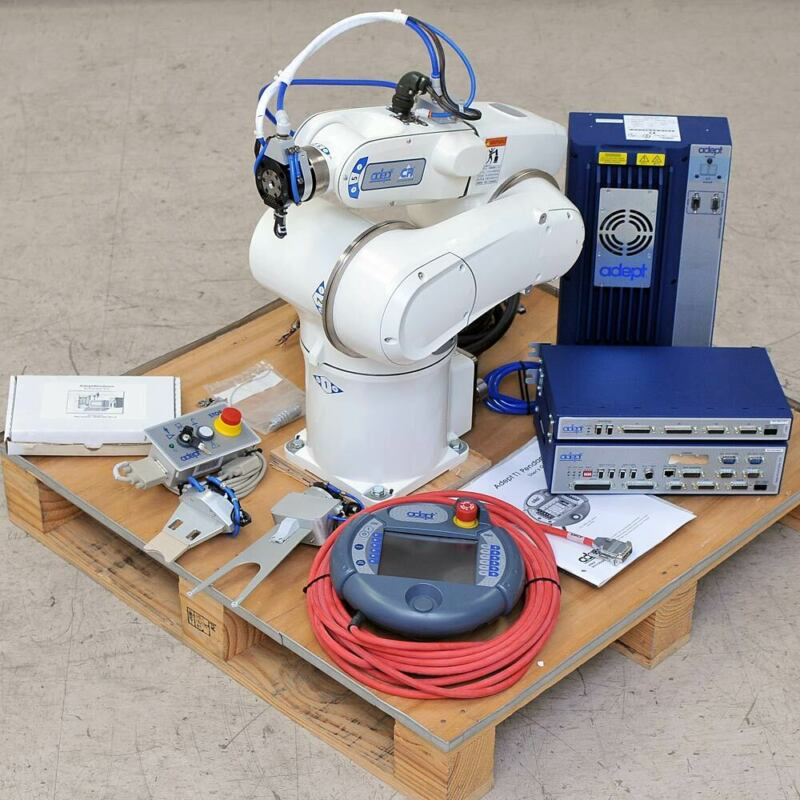 Adept Viper s650 CR Cleanroom Robot Arm with SmartController CX, Pendant, Cables