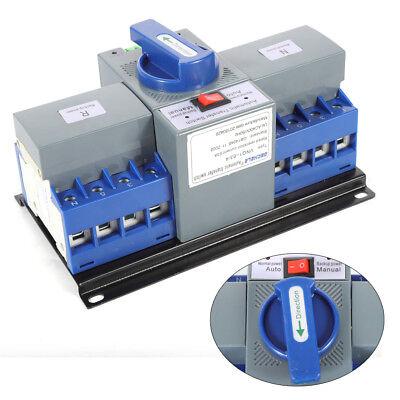 110v 4p 63a Ats Dual Power Automatic Transfer Switch For Generator Cb Level Usa