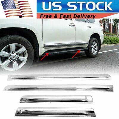 For Toyota Land Cruiser Prado Fj150 2010-2019 Door Body Side Line Cover Trim ()