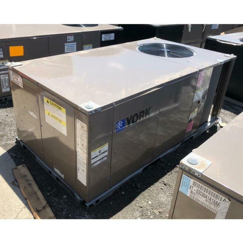 YORK ZF072C00N2AAB4 6 TON CONVERTIBLE PACKAGED AIR CONDITIONER, 208-230/60/3
