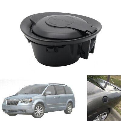 Black Fuel Gas Tank Filler Cap Door Lid Cover for 2008-2015 Dodge Challenger