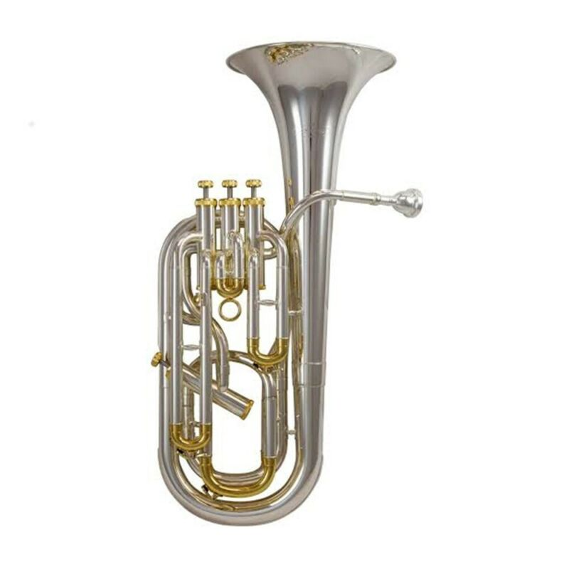 Schagerl SLBHJMS 4 Valve Baritone Horn - James Morrison Edition Silver Plated